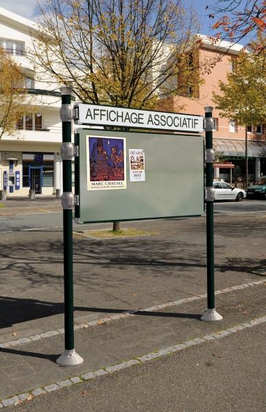 Panneau d 39 affichage libre agora collectivit s for Panneaux publicitaires exterieur